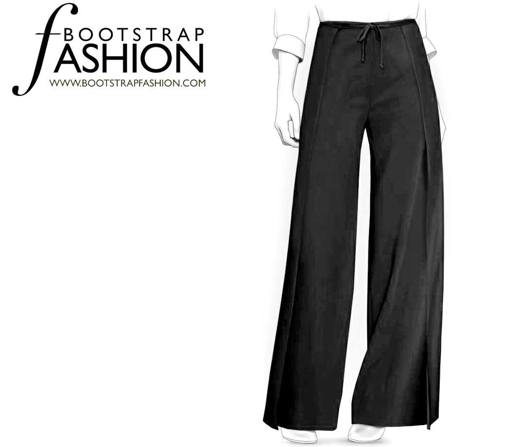 Bootstrapfashion designer sewing patterns affordable trend fashion designer sewing patterns wrap palazzo pants jeuxipadfo Choice Image