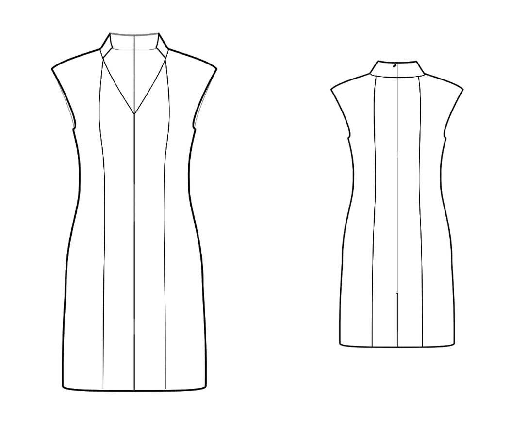 Stand Neck Designs : Bootstrapfashion designer sewing patterns