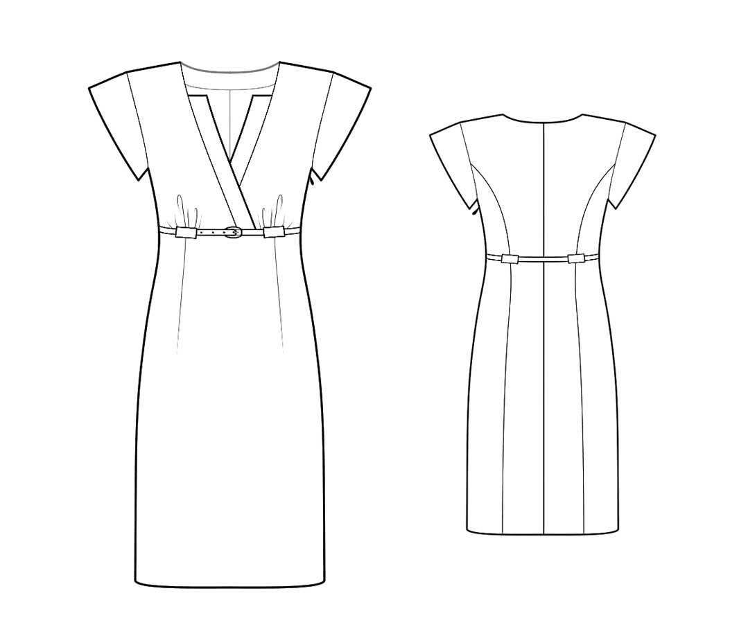 Bootstrapfashion designer sewing patterns affordable trend fashion designer sewing patterns high waist tailored dress jeuxipadfo Images