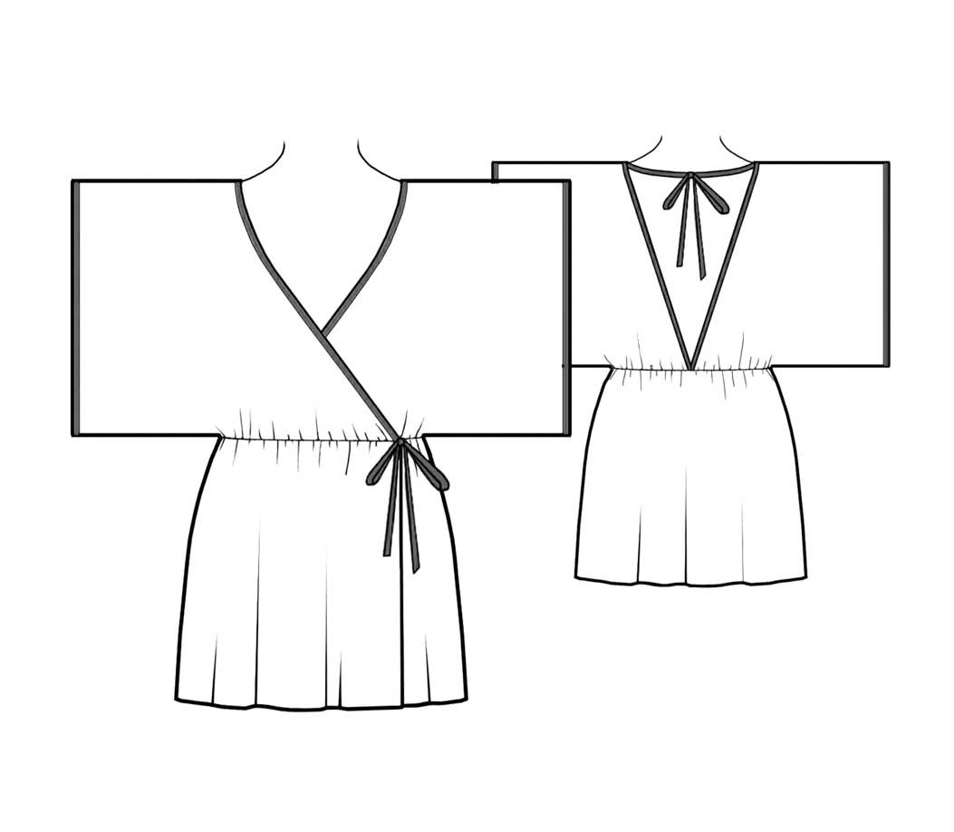 Robe Sewing Pattern Cool Decorating Design