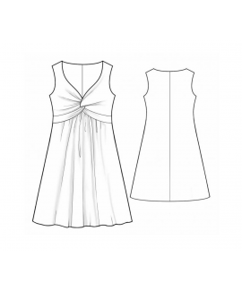 Custom-Fit Sewing Patterns - Princess Knot Dress