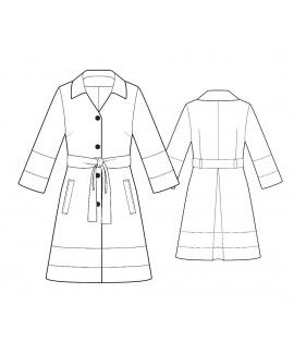 Custom-Fit Sewing Patterns - Jacket with Contrast Panels