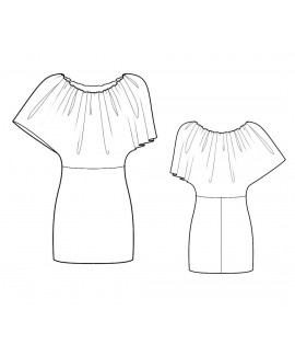 Custom-Fit Sewing Patterns - Combination Mini Dress