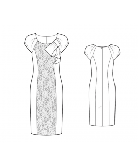 Custom-Fit Sewing Patterns - Origami Fitted Sheath