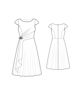 Custom-Fit Sewing Patterns - 44169 Dress