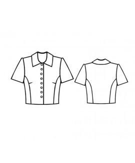 Custom-Fit Sewing Patterns - Cropped Jacket