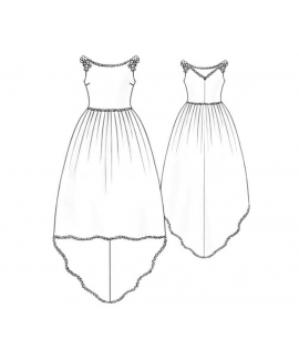 Custom-Fit Sewing Patterns - Wedding Dress