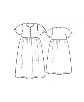 Custom-Fit Sewing Patterns - Empire Waist Nightgown