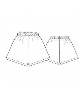 Custom-Fit Sewing Patterns - Satin Or Batiste Shorts