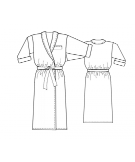 Custom-Fit Sewing Patterns - Classic Long Robe
