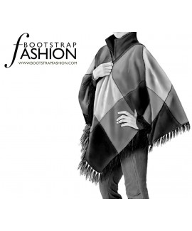 Custom-Fit Sewing Patterns - Poncho