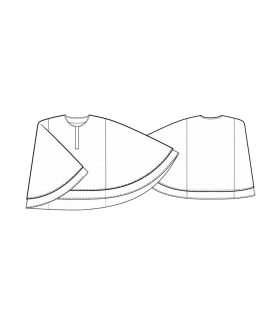 Custom-Fit Sewing Patterns - Double Layer Cape