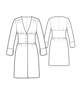 Custom-Fit Sewing Patterns - Cinched Waist Robe