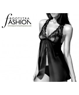 Custom-Fit Sewing Patterns - Halter Style Chemise