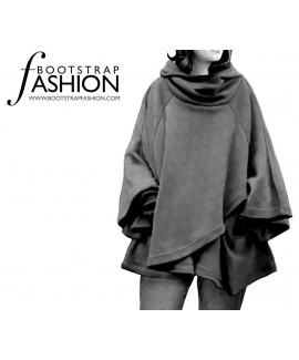 Custom-Fit Sewing Patterns - Cape With A Hood
