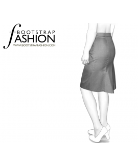 Custom-Fit Sewing Patterns - Fish Tail Back Pencil