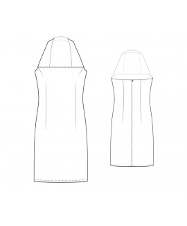 Custom-Fit Sewing Patterns - Fitted Halter Dress
