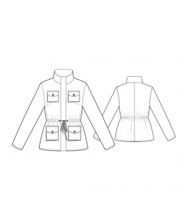 Custom-Fit Sewing Patterns - Four Pocket Windbreaker