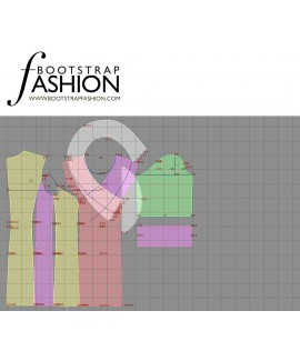 Custom-Fit Sewing Patterns - Fitted Coat Dress