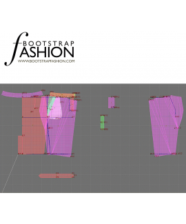 Custom-Fit Sewing Patterns - Banded Pencil Skirt