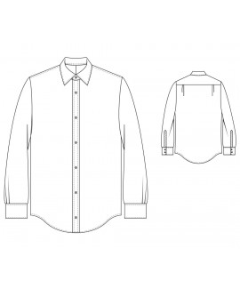 Made-To-Measure Loose Fit Men's Shirt