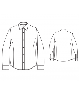 Made-To-Measure Slim Euro Fit Men's Shirt