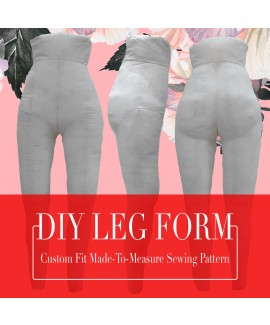 Exclusive! DIY Pant Form Mannequin/Dummy, Custom Made-to-Measure Fit