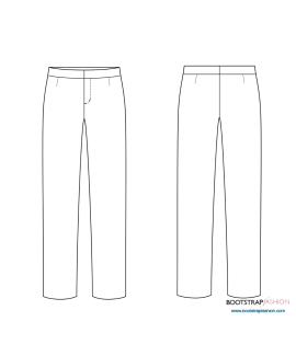 New and Improved! Exclusive CustomFit Sewing Patterns  - Pants Sloper with Waistband
