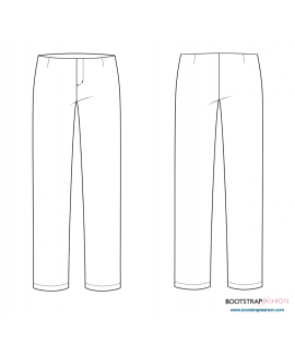 New and Improved! Exclusive CustomFit Sewing Patterns  - Classic Pants Sloper With Facing