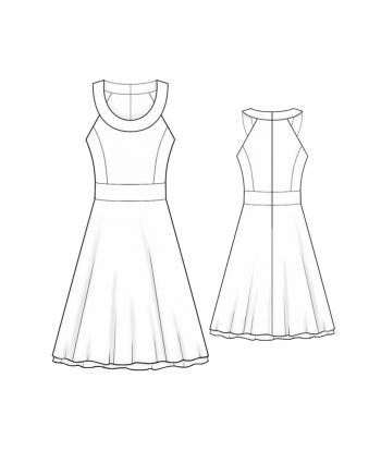 Dresses - Women - Leko Sewing Patterns Designer Sewing Patterns ...