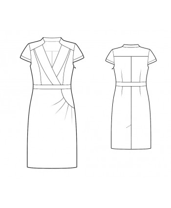 Custom-Fit Sewing Patterns - Updated Tailored Dress
