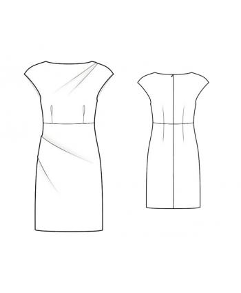 Custom-Fit Sewing Patterns - Draped Sheath