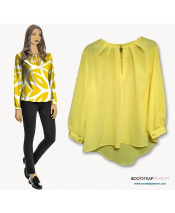 Custom-Fit Sewing Patterns - Blouse