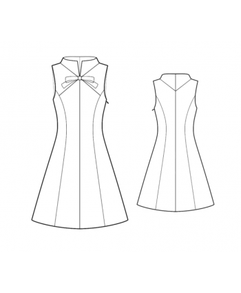 Custom-Fit Sewing Patterns -  Vintage A-line Shift