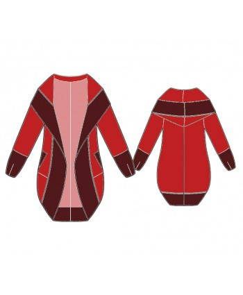 Custom-Fit Sewing Patterns - Cape Coat With A Hood