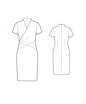 Custom-Fit Sewing Patterns - Wrap Sheath