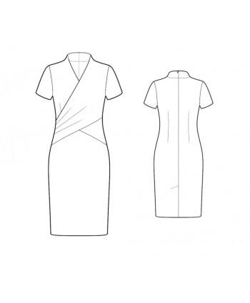 Custom-Fit Sewing Patterns - Wrap Sheath