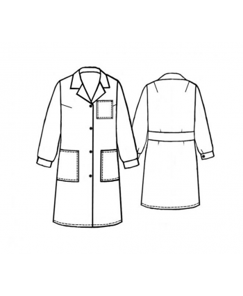 Custom-Fit Sewing Patterns - Button Up Robe