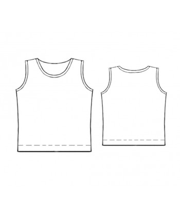 Custom-Fit Sewing Patterns - Tank Top