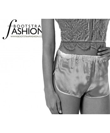 Custom-Fit Sewing Patterns - Vintage Style Lingerie Shorts