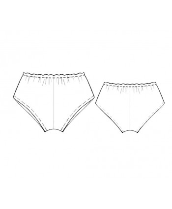 Custom-Fit Sewing Patterns - Vintage Panty