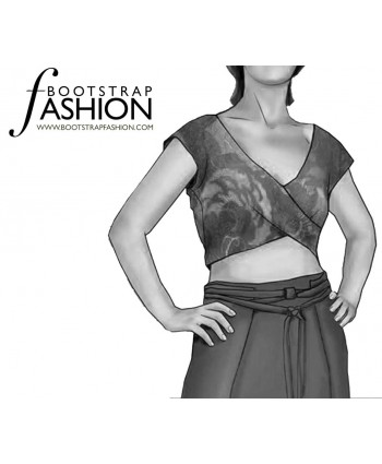 Custom-Fit Sewing Patterns - Cropped Bodice
