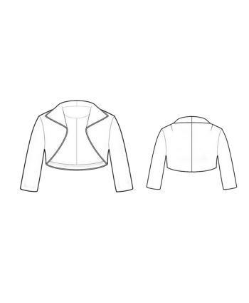 Custom-Fit Sewing Patterns - Bolero - Shrug
