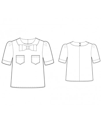 Custom-Fit Sewing Patterns - Cropped Top