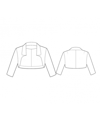 Custom-Fit Sewing Patterns - Perfect Cut Cropped Jacket