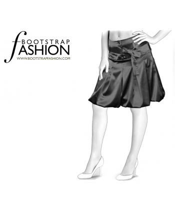 Custom-Fit Sewing Patterns - Tied Waist With Flare