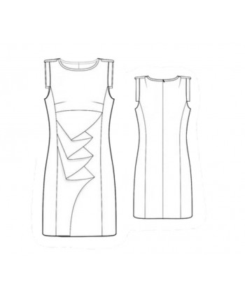 Custom-Fit Sewing Patterns -  Origami Front Sheath
