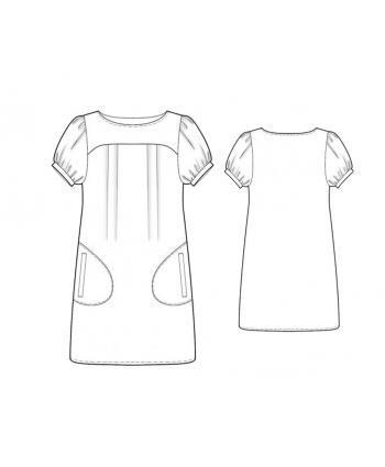 Custom-Fit Sewing Patterns - Short Sleeve Tunic