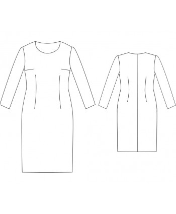 Custom-Fit Sewing Patterns - Basic Block Dress
