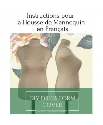 Instructions de couture pour la Housse de Mannequin Personnalisée en Français